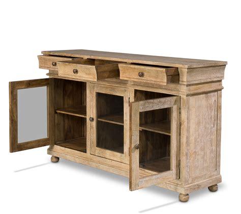mango wood paris flea market sideboard buffet 72 l