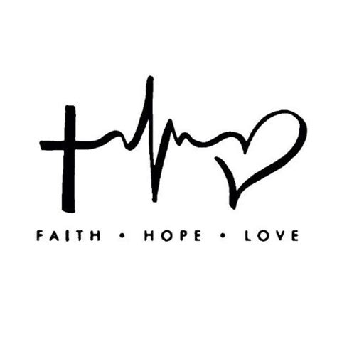 love of my life tattoo designs faith laptop car vinyl window decal sticker 4