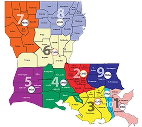 louisiana hospitals map about ldh department of health state of louisiana