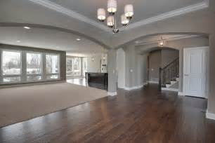 Open Concept Floor I Everything About This Color Of The Walls Wood Floor The Open Concept Just