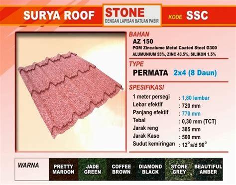 Multiroof Manado harga genteng metal multiroof roof genteng