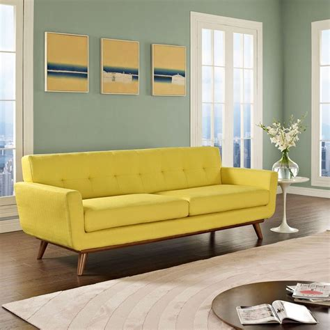 yellow couches spiers sofa in yellow