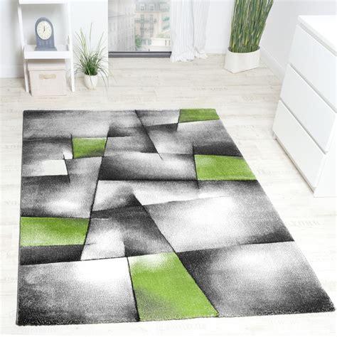 teppich 280 x 300 designer teppich kariert konturen schnitt in gr 252 n grau