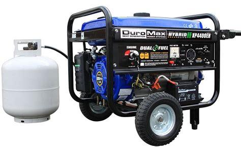 187 duromax hybrid portable dual fuel propane gas cing