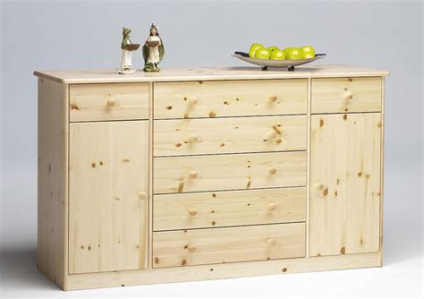 Kiefer Kommode by Massivholz Sideboard Anrichte Kommode Buffetschrank Kiefer