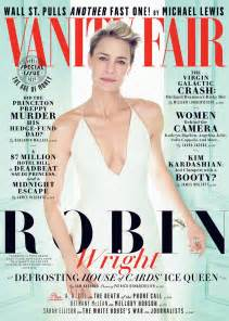 Vanity Fair Newsletter House Of Cards Robin Wright Looks Ethereal On Vanity Fair