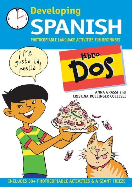 libro a history of spain developing spanish libro dos photocopiable language activities for beginners developing