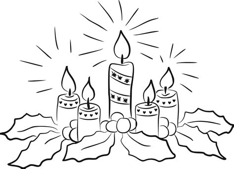 candele on line clipart candles line