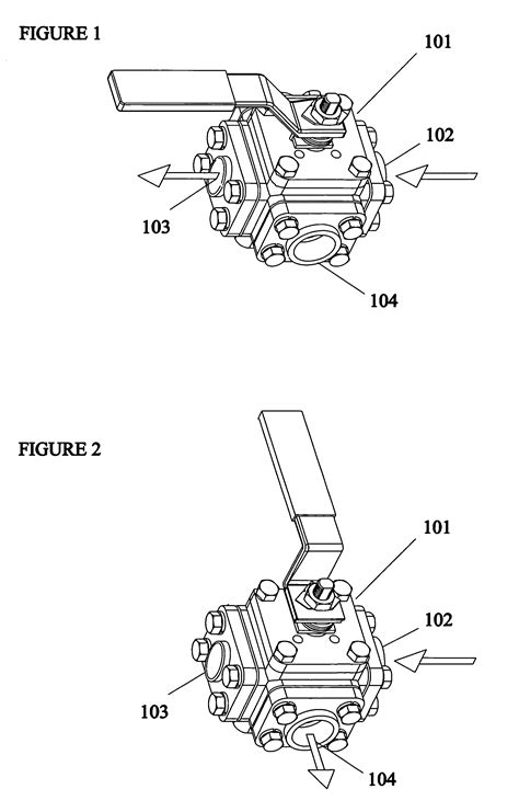 Patent US7051760 - Three-way inline piggable branch valve