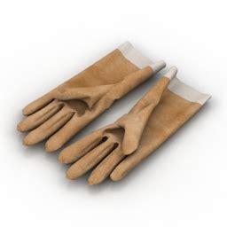 Model Kitchen Gloves 3d Quot Gloves Quot Collection Gloves 1 3d Model Gsm