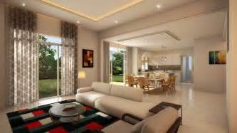 single storey terrace house interior design house design