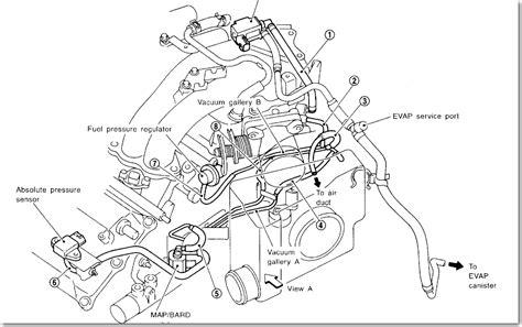vacuum diagram    nissan maxima