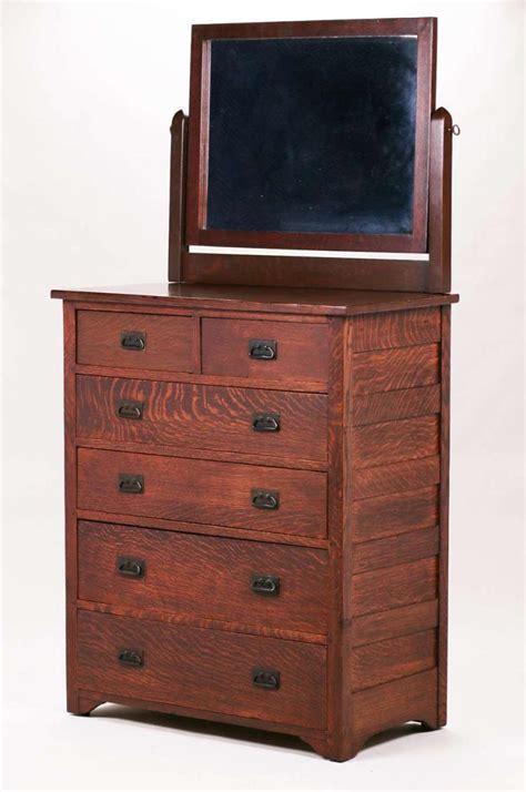 furniture with mirror l jg stickley onondaga dresser with mirror