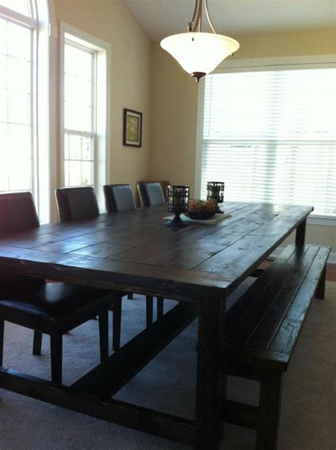 farmhouse dining table farmhouse dining tables - Kitchen Tables Raleigh Nc