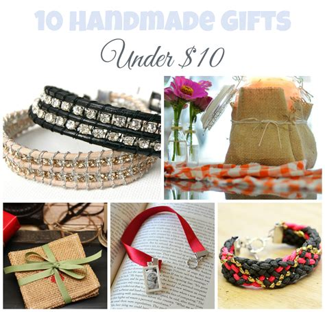 Gift Handmade - 10 handmade gifts 10 a giveaway