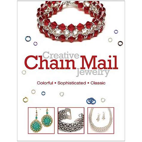 jewelry books free kalmbach books creative chain mail jewelry walmart