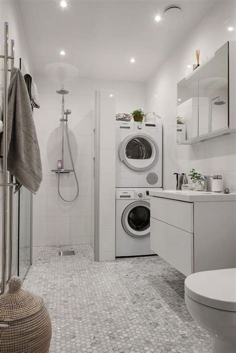 laundry in bathroom ideas 22 amazing basement laundry room ideas that ll you