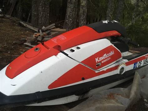 Kawasaki 650 Jet Ski For Sale by Kawasaki 650sx Stand Up Jet Ski For Sale