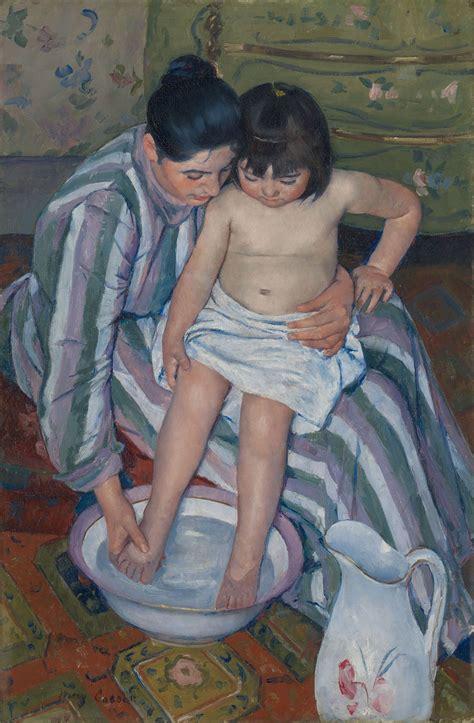 children bathtub roarshock net mary cassatt