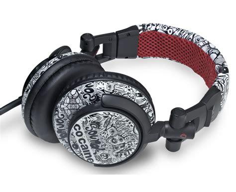 co caine headphone sound clash urban style