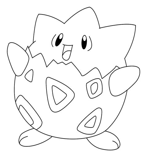 how to draw togepi draw central