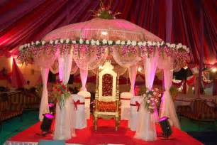 Indian Wedding Home Decoration Indian Weddings Grand Pink Mandap Indian Wedding Decorations Indian Wedding Planner And