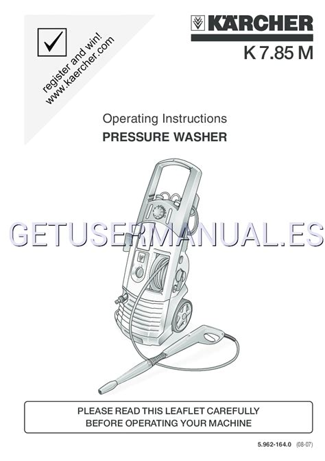 karcher pressure washer wiring diagram karcher hds 750