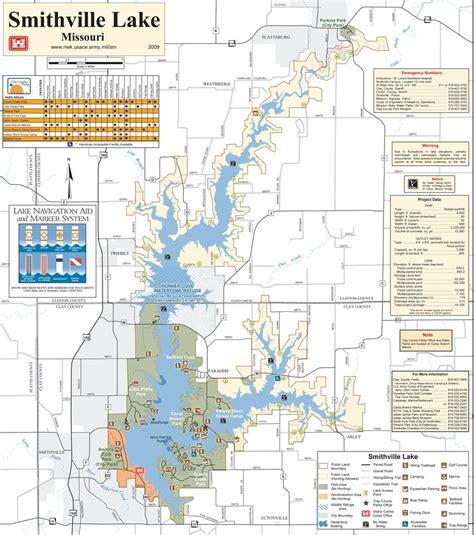 smithville lake map smithville lake maplets