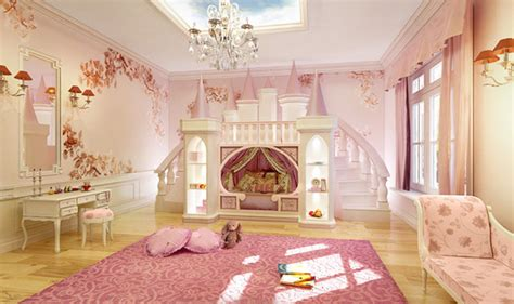 ultimate princess theme room princess castle bed