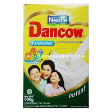 Dancow Instant Rsp S Analisis Dancow