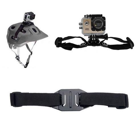 Protection For Xiaomi Yi Gopro Sjcam go pro accessories adjustable helmet mount for