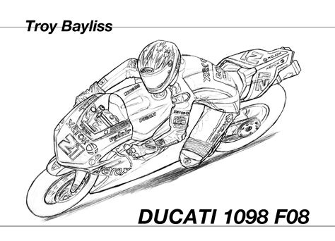ducati motorcycle coloring pages ducati coloring pages
