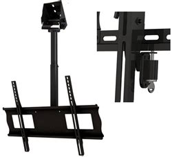 cathedral ceiling tv mount anti theft key locking tv mount cathedral ceiling
