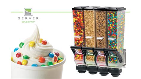 food dispenser server products launches new slimline food dispenser