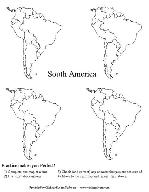 coloring page map of south america map of south america coloring pages