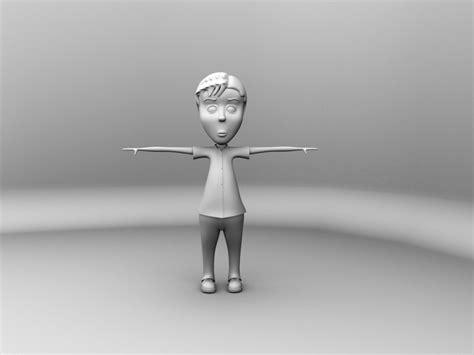 free download cgtrader models character boy free 3d model ma mb cgtrader