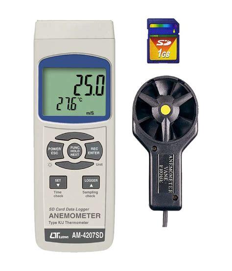 Lutron Am 4222 Vane Anemometer lutron electronic anemometer am 4207sd buy lutron electronic anemometer am 4207sd at