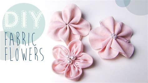 Blumenel Selber Machen by Diy Stoff Blumen Selber Machen