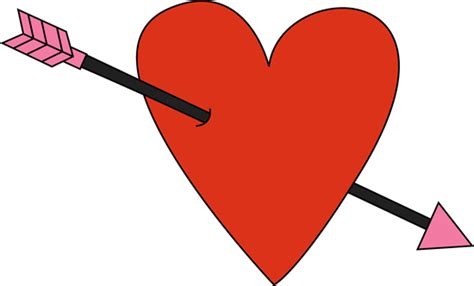 valentines day arrow s day and arrow clip