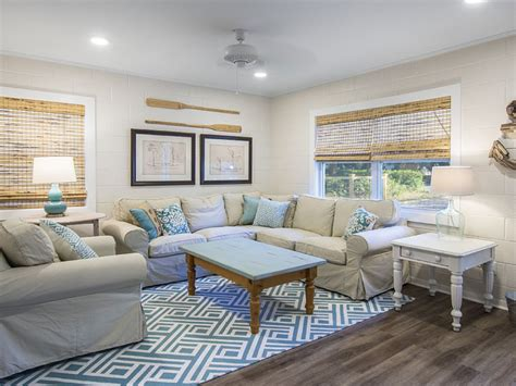 beach house living room tidewater retreat saint simons island ga