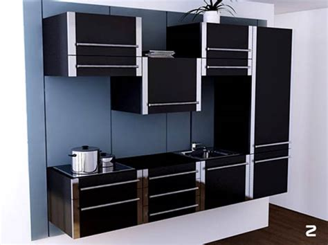 space saving sliding kitchen cabinet system freshome