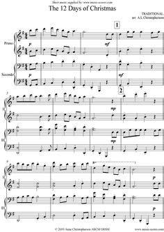 tutorial piano duet christmas piano duet music piano christmas music