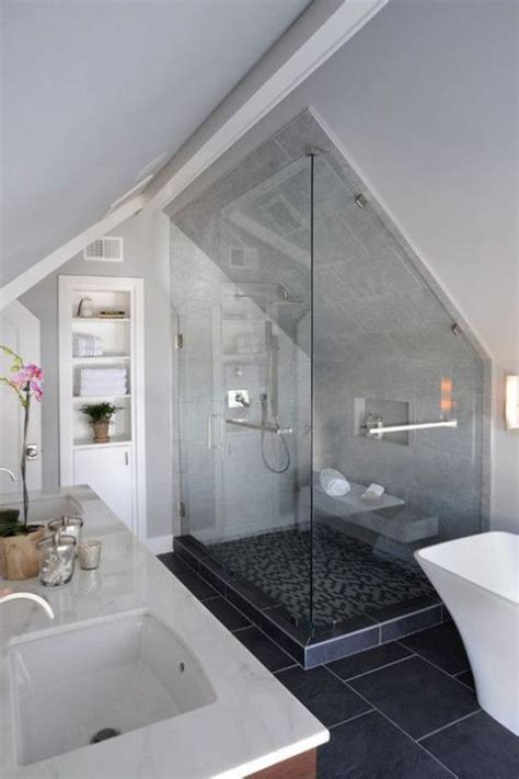 Small Attic Bathroom Ideas by 52 Cool And Smart Attic Bathroom Designs Comfydwelling