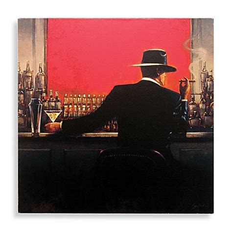 bed bath and beyond art cigar bar man canvas wall art bed bath beyond