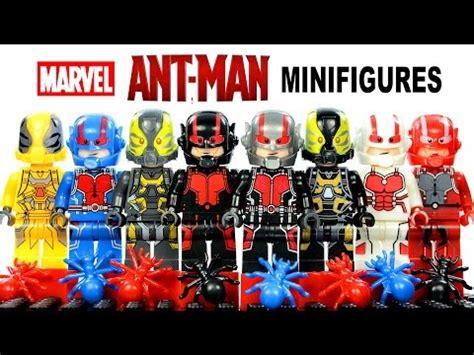 Lego Marvel Comics Yellow Jacket Ant Series Bootleg fantastic four 2015 lego knockoff minifigures set 4 w