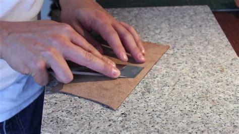 como hacer una cartera de cuero para hombre c 243 mo hacer una cartera de cuero how to make a leather