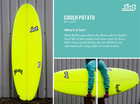 lost couch potato surfboard summer surfboard pick magicseaweed com