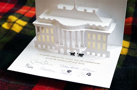 Free Template Of White House Pop Up Card by A Pop Up From The White House The Fox Is Black