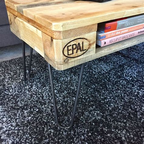 Table Basse Avec Palette Europe by Table Basse Industrielle Palette Europe