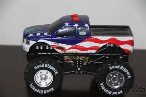 original bigfoot monster truck toy toy state quot bigfoot quot ford f 150 usa flag monster truck